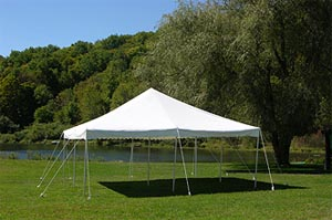 20x30 Over The Counter Tent