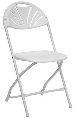 White Folding Chair.